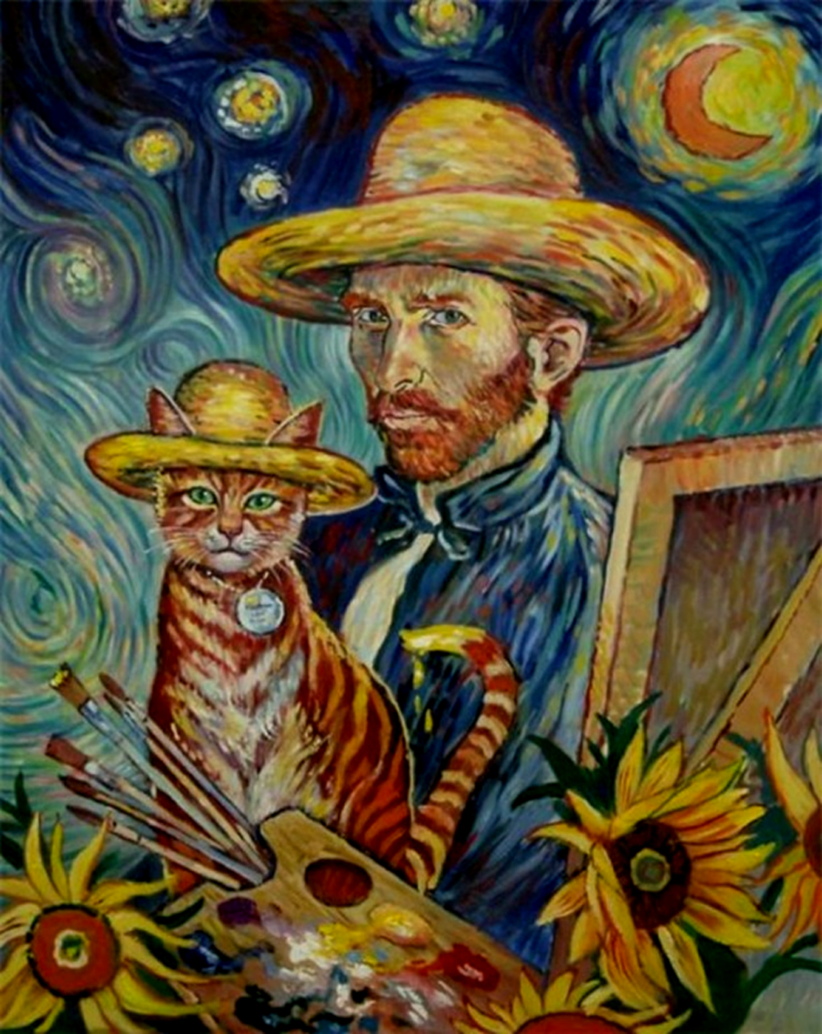 Van Gogh and The Cat